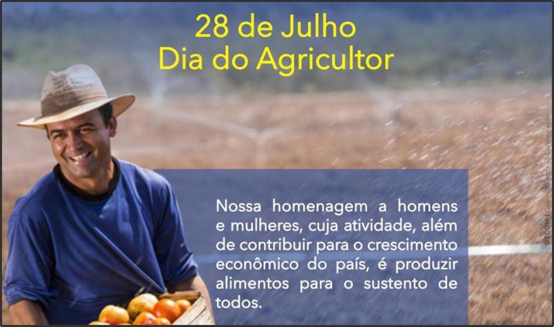 Imagem destaque notícia 28 DE JULHO - DIA DO AGRICULTOR