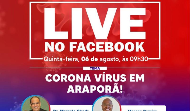 Imagem destaque notícia LIVE COM O COMITÊ TÉCNICO DE ENFRENTAMENTO AO NOVO CORONAVÍRUS