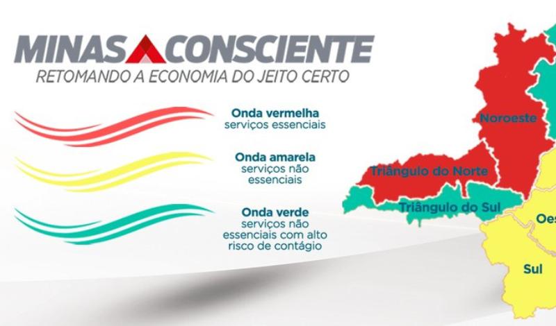 Imagem destaque notícia MACRORREGIÃO DO TRIÂNGULO NORTE ENTRA NA ONDA VERMELHA