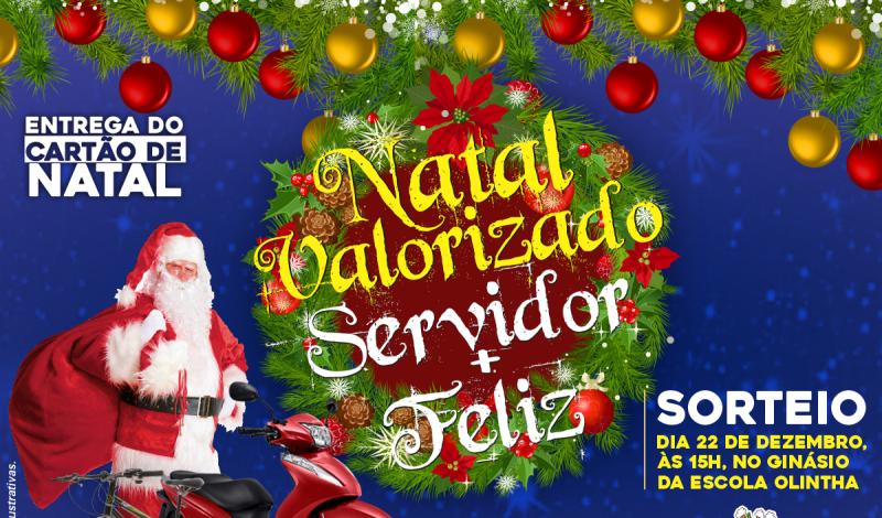 Imagem destaque notícia NATAL VALORIZADO, SERVIDOR MAIS FELIZ 2020