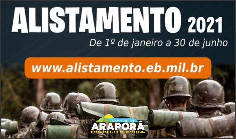 Imagem destaque notícia ALISTE-SE PARA O SERVIÇO MILITAR ATÉ 30 DE JUNHO