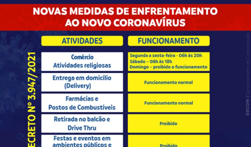 Imagem destaque notícia PREFEITURA DECRETA RESTRIÇÃO DE LOCOMOÇÃO PELOS PRÓXIMOS 7 DIAS