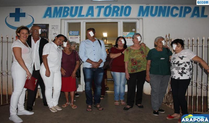 Imagem destaque notícia Pacientes de Araporã realizam cirurgia de catarata