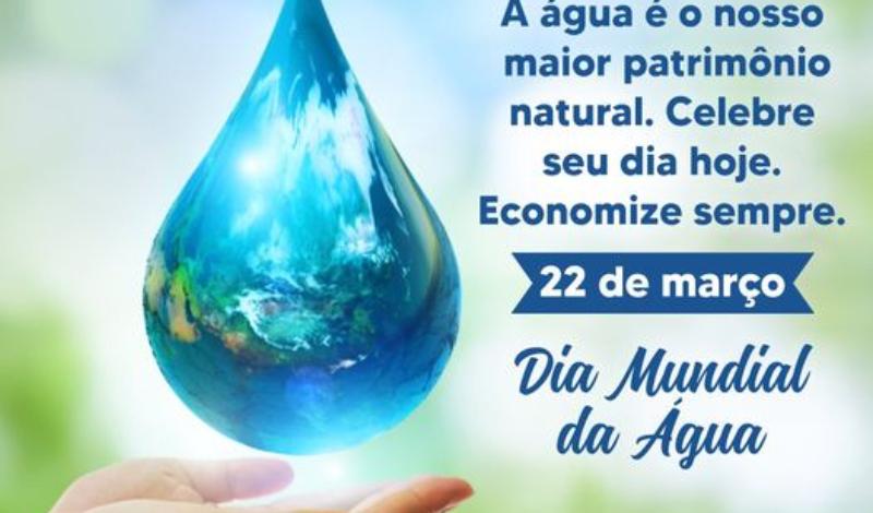 Imagem destaque notícia 22 DE MARÇO- DIA MUNDIAL DA ÁGUA