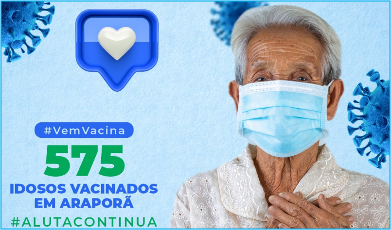 Imagem destaque notícia 575 IDOSOS VACINADOS EM ARAPORÃ
