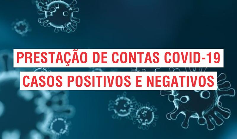 Imagem destaque notícia PRESTAÇÃO DE CONTAS COVID-19 - 08/04/2021