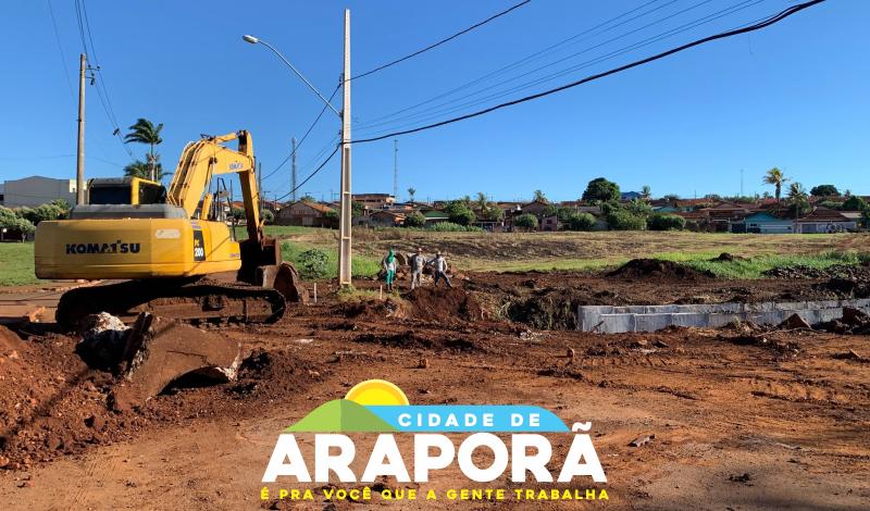 Imagem destaque notícia TRECHO DA RUA 6 ESTÁ INTERDITADO PARA CONCLUSÃO DO CÓRREGO