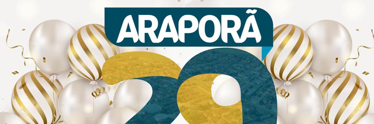 Imagem destaque notícia ARAPORÃ 29 ANOS: NOSSO MAIOR PATRIMÔNIO É VOCÊ, CIDADÃO ARAPORENSE