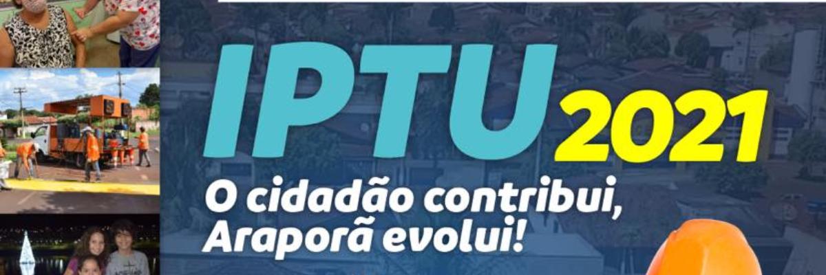 Imagem destaque notícia IPTU 2021 TEM PRAZO DE PAGAMENTO PRORROGADO