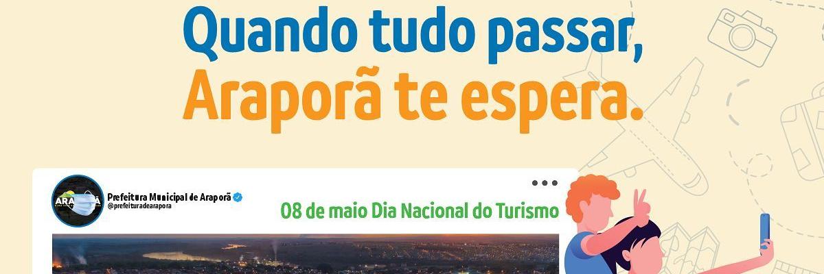 Imagem destaque notícia 8 DE MAIO, DIA NACIONAL DO TURISMO