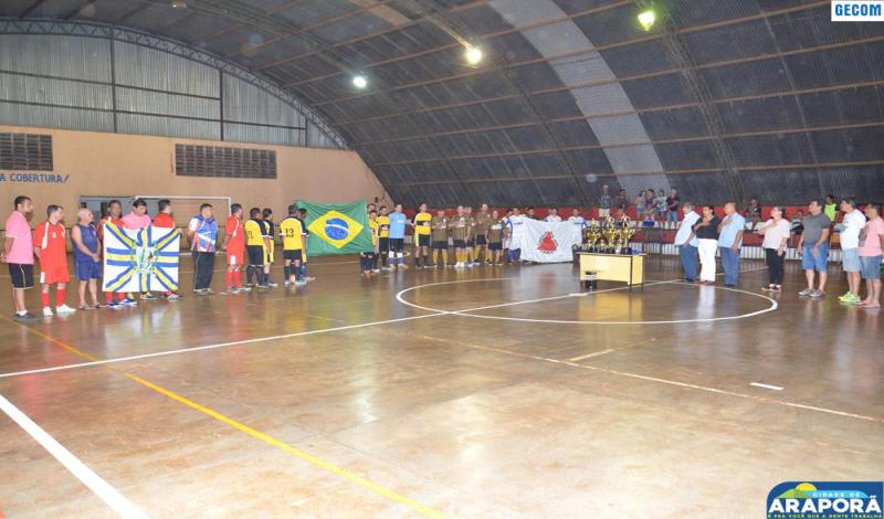 Imagem destaque notícia Prefeitura realiza 1º Campeonato Master de Futsal