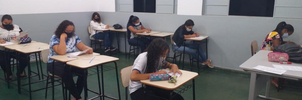 Imagem destaque notícia ESCOLA OLINTHA APLICA SIMULADO PARA AVALIAR NÍVEL DE APRENDIZADO DOS ALUNOS