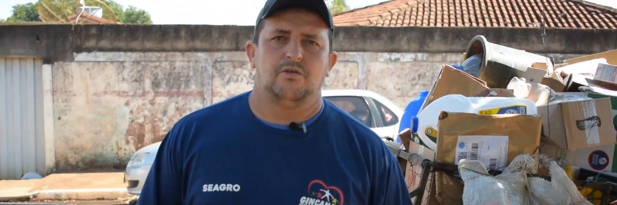 Imagem destaque notícia ASSOCIAÇÃO DE CATADORES DE ARAPORÃ JÁ TEM CNPJ E LICENÇA AMBIENTAL