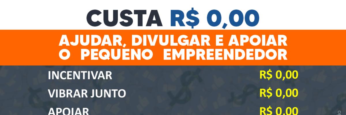 Imagem destaque notícia CUSTA R$ 0,00