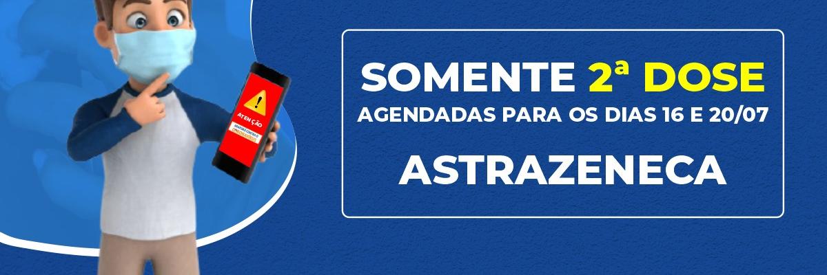 Imagem destaque notícia NESTA SEXTA-FEIRA, ARAPORÃ VACINA 2ª DOSE DA ASTRAZENECA