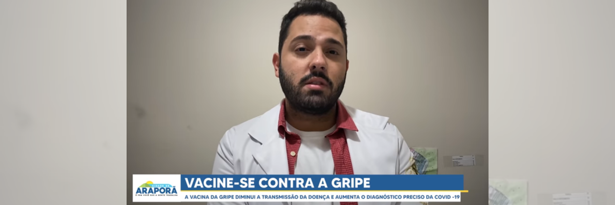 Imagem destaque notícia ESPECIALISTA RESPONDE DÚVIDAS SOBRE A VACINA DA GRIPE