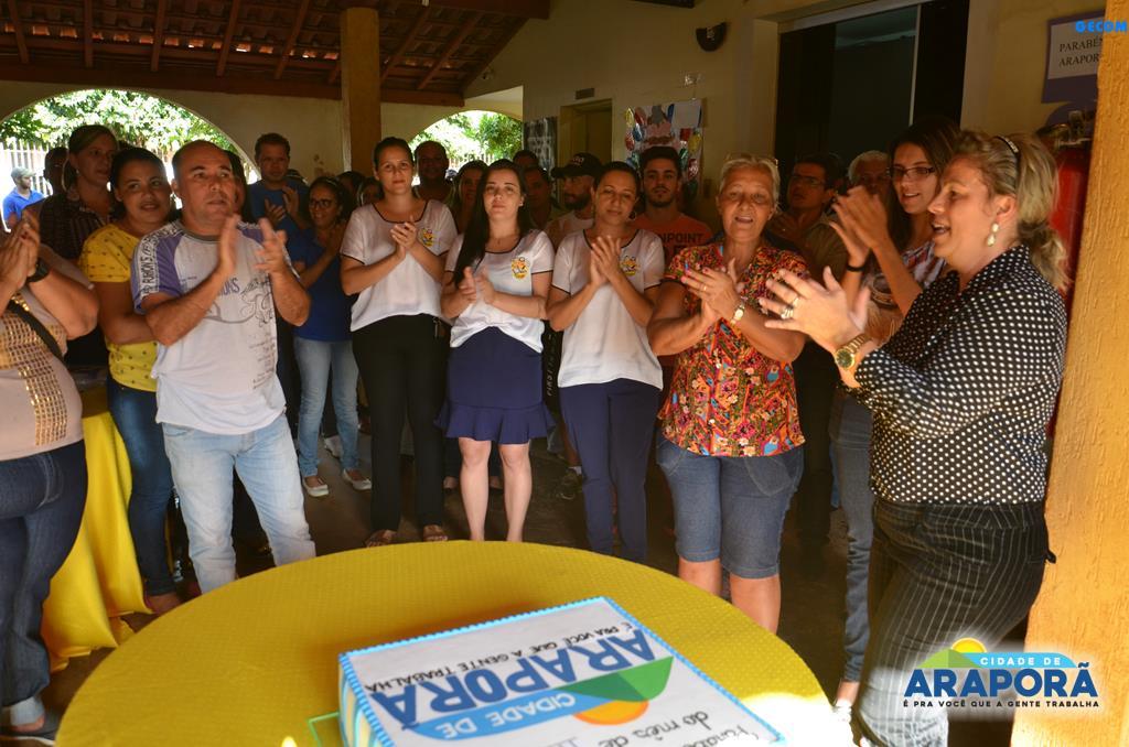 Imagem destaque notícia Prefeitura de Araporã parabeniza servidores aniversariantes em maio