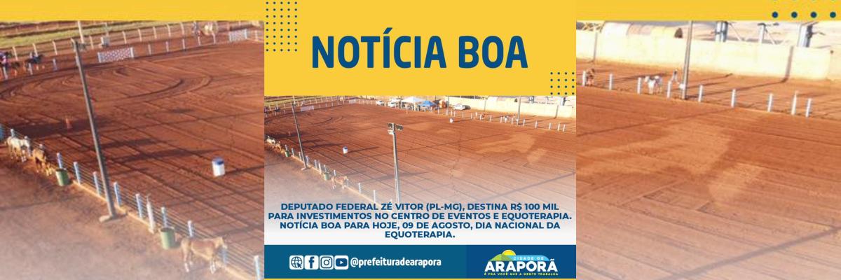 Imagem destaque notícia DIA NACIONAL DA EQUOTERAPIA COM NOVIDADES EM ARAPORÃ