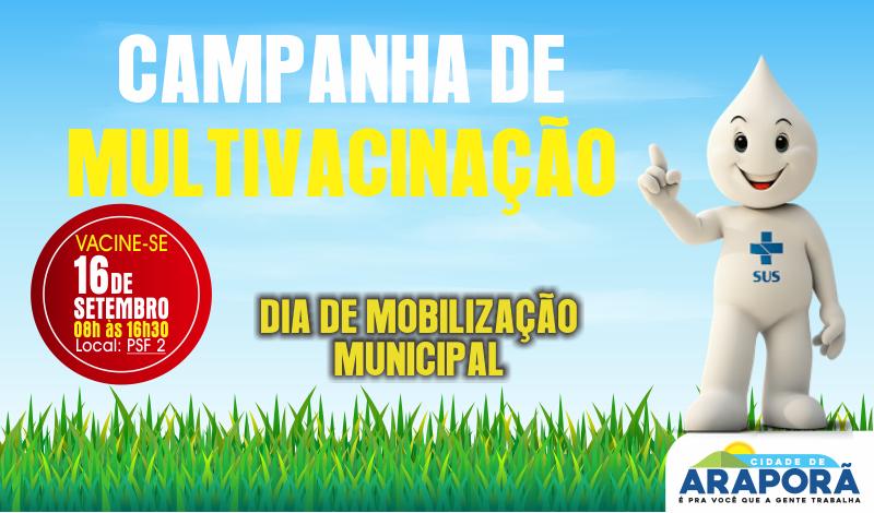 Imagem destaque notícia Saúde prepara Campanha de Multivacinação
