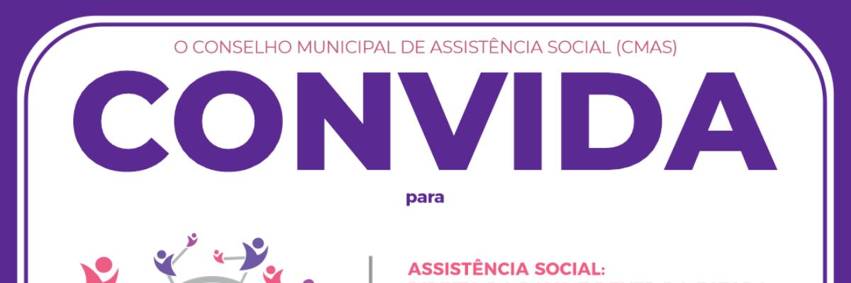 Imagem destaque notícia PARTICIPE DA CONFERÊNCIA DE ASSISTÊNCIA SOCIAL ONLINE