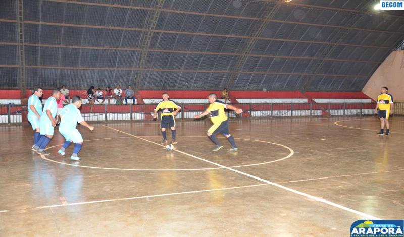Imagem destaque notícia Rodada do Campeonato Master de Futsal registra recorde de gols