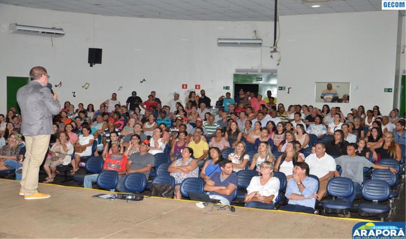 Imagem destaque notícia Prefeitura oferece palestra Gestão do Tempo para funcionário de Araporã