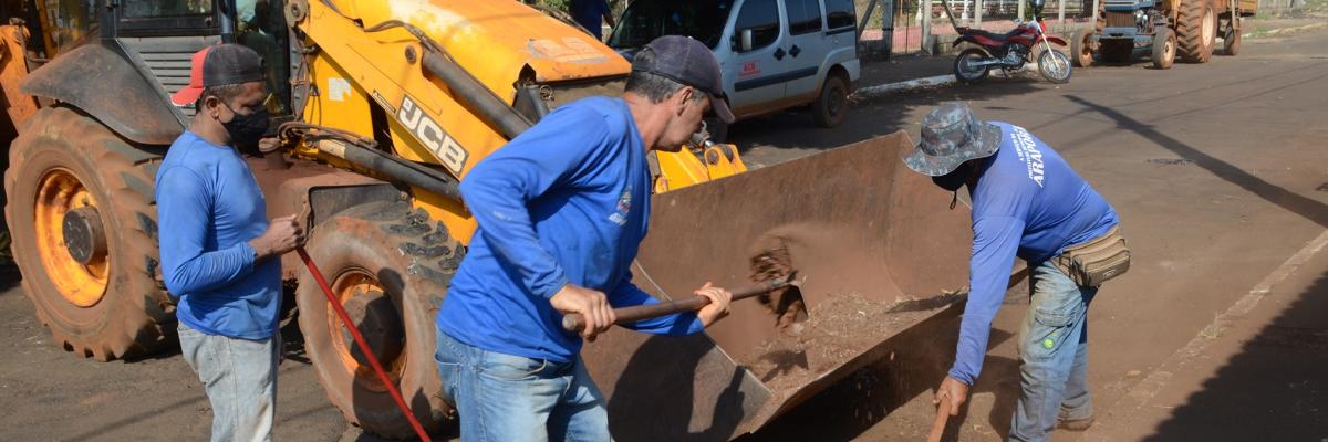 Imagem destaque notícia MODO ON NA OPERAÇÃO TAPA-BURACOS