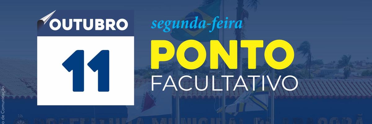 Imagem destaque notícia PONTO FACULTATIVO E FERIADO