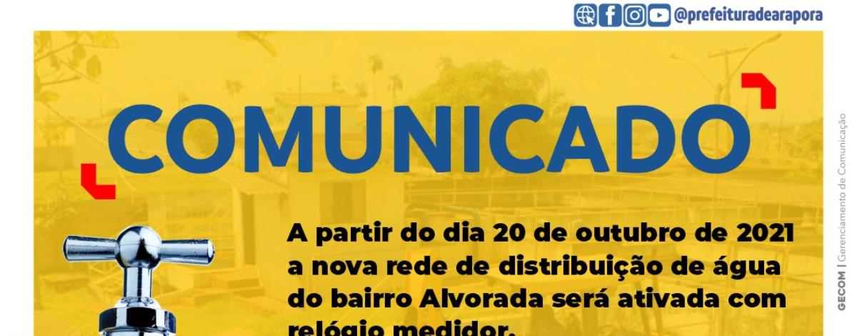 Imagem destaque notícia MORADORES DO BAIRRO ALVORADA, NÃO PERCAM O PRAZO!