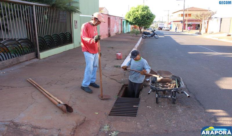 Imagem destaque notícia Prefeitura inicia operação limpeza de olho no período chuvoso