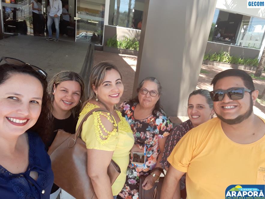 Imagem destaque notícia Servidores da SEMEC participam de formação em Uberlândia