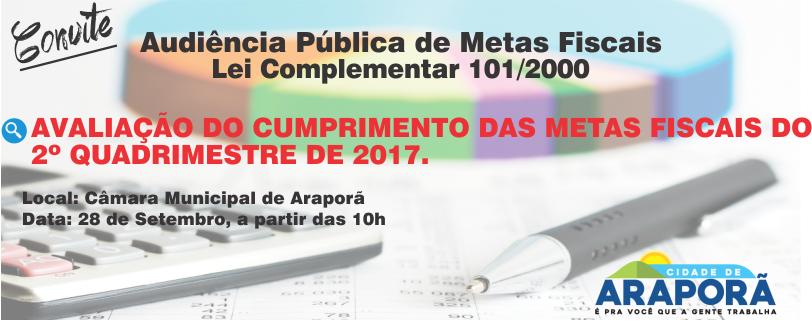 Imagem destaque notícia Prefeitura realiza audiência pública para avaliação de metas fiscais