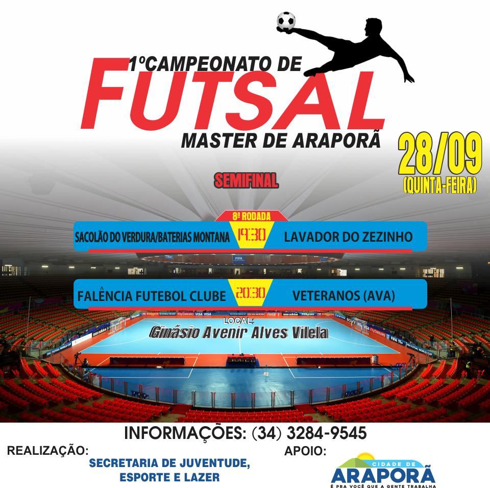 Imagem destaque notícia Começa hoje a semifinal do Campeonato de Futsal