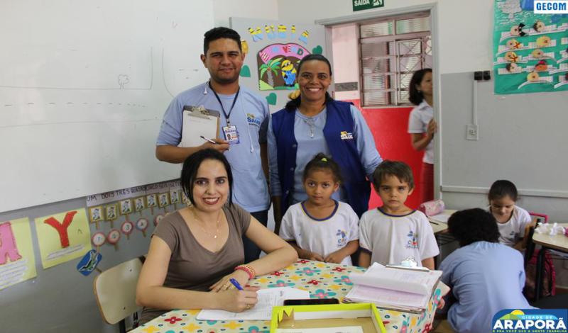Imagem destaque notícia NASF leva a CEMEI Programa Saúde na Escola