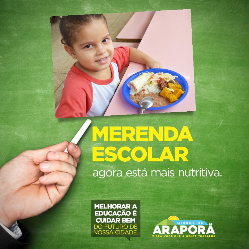 Imagem destaque notícia Prefeitura garante merenda de qualidade para 1,5 mil alunos