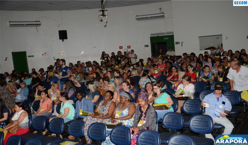 Imagem destaque notícia Araporã discute igualdade racial em conferência de Educação realizada no final de semana