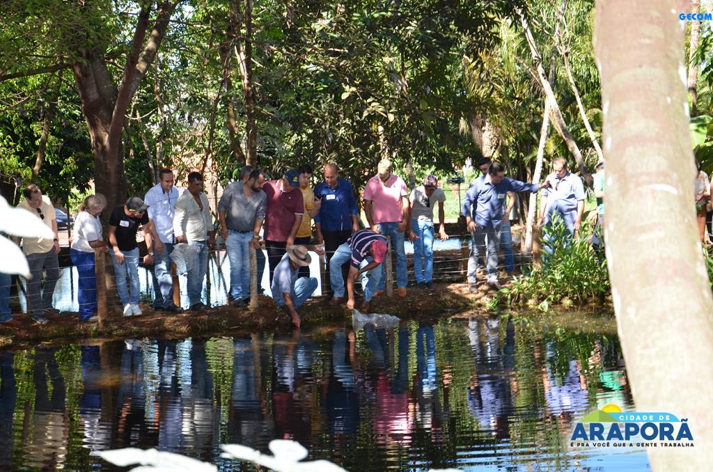 Imagem destaque notícia Palestra e soltura de alevinos marcam abertura da Semana do Meio Ambiente