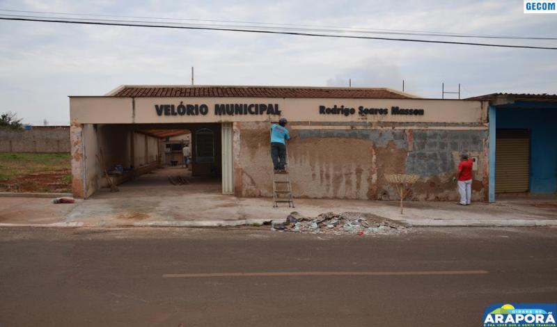Imagem destaque notícia Sala de Velórios passa por reforma