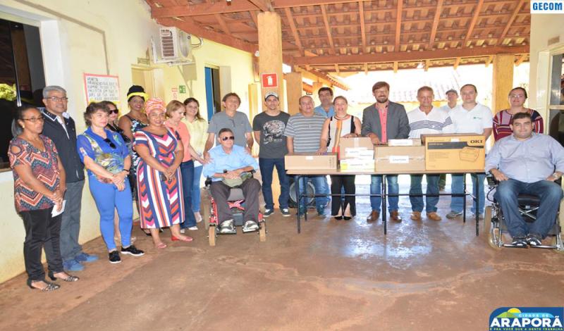 Imagem destaque notícia Conselho da Pessoa com Deficiência recebe kit multimídia
