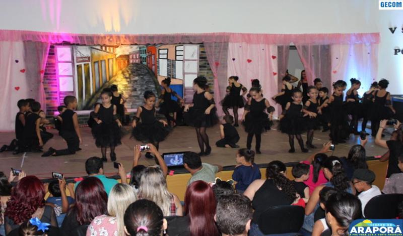 Imagem destaque notícia Escola Prefeito Wilmar Alves apresenta em sarau resultado do trabalho do Projeto Poesias