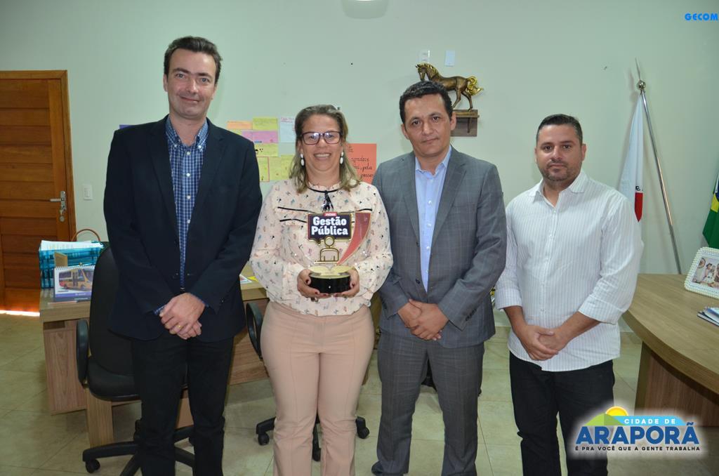 Imagem destaque notícia Pesquisa aponta gestão de Araporã entre as melhores do Estado