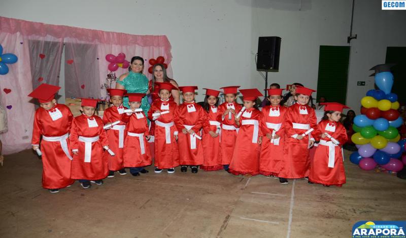 Imagem destaque notícia Escola Prefeito Wilmar forma turmas do pré