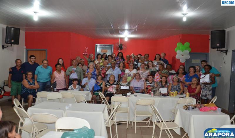 Imagem destaque notícia CAIA reúne idosos para confraternização