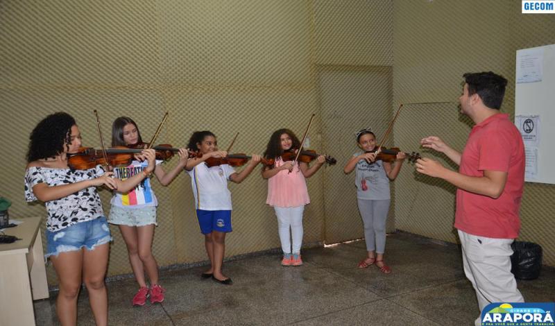 Imagem destaque notícia Espaço de Música inicia atividades com inscrições abertas para iniciação musical