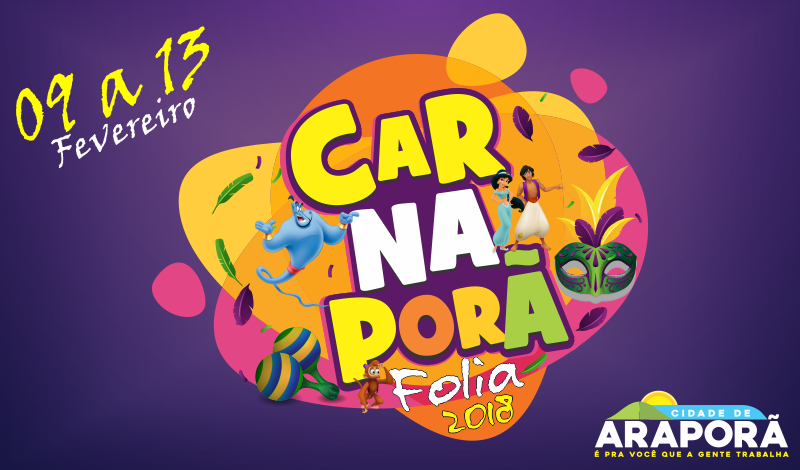 Imagem destaque notícia Vem aí Carnaporã Folia 2018