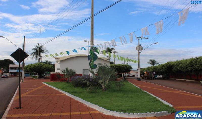 Imagem destaque notícia Prefeitura deu início nessa semana à ornamentação do Carnaporã Folia 2018
