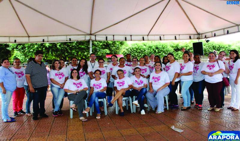 Imagem destaque notícia Prefeitura de Araporã comemora Dia da Mulher com ação de saúde