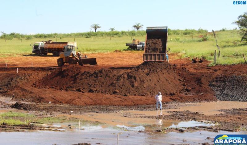 Imagem destaque notícia Prefeitura dá sequência à construção do Lago Bem Viver