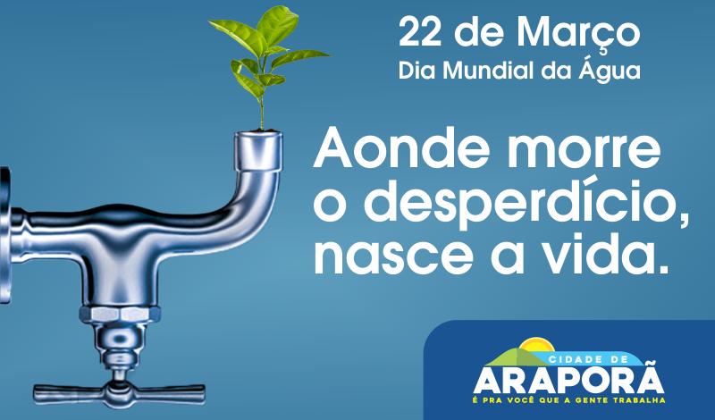 Imagem destaque notícia Dia 22 de março é Dia Mundial da Água