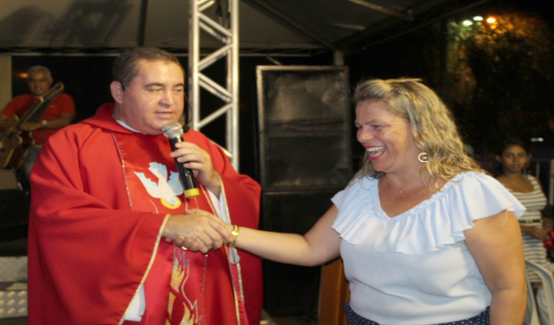 Imagem destaque notícia Prefeitura recebe agradecimento da igreja pela parceria em apoio a trabalhos pastorais